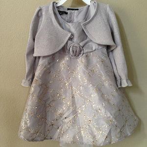 ZUNIE Baby Girls with Bolero Dress Size 2T #17